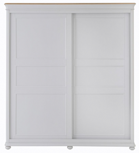 Manhattan Grey Sliding Door Wardrobe